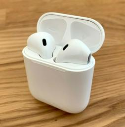 Wireless Bluetooth Earbuds w/ Charging Case works w/ Apple I