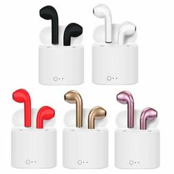 2019 Wireless Bluetooth Earphone Earbuds for Apple Airpods i