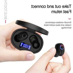 2x waterproof wireless bluetooth 5 0 earbuds