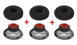 3x replacement ear tip bud earbud
