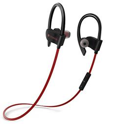 Bluetooth Headphones,SMBOX Bluetooth Sports Earbuds with Bui