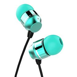 KWORLD In-Ear Earbud Wired Headphones designed for Music Lis