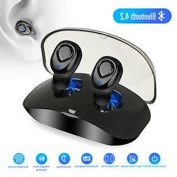 Mini Wireless Bluetooth Earbuds Waterproof Twins Headset Ste