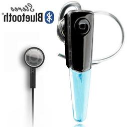 New AD2P Wireless Stereo Bluetooth Headset Voice+Music For A