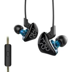 Ocamo In-ear Headphones with Mic Detachable HiFi Earphones D