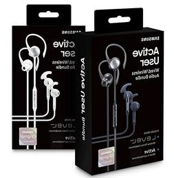 Samsung Active User Bundle - Bluetooth + in-Ear Wired - Whit