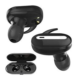 Wireless Stereo Earbuds For Asus ZonFone 5z Black Multifunct