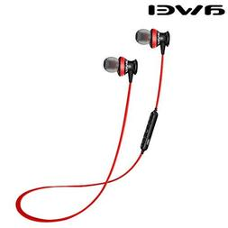 Awei A980bl Red Wireless Sport Bluetooth 4.0 Earphone Stereo
