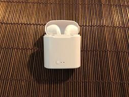 AirPod Style Bluetooth Inexpensive Headphones for Apple iPho