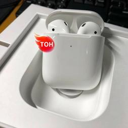 AirPods 2nd Gen Bluetooth Earbuds with Wireless Charging Cas