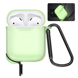 AirPods Protective Case, MoKo Silicone Cover Shock Proof Pro