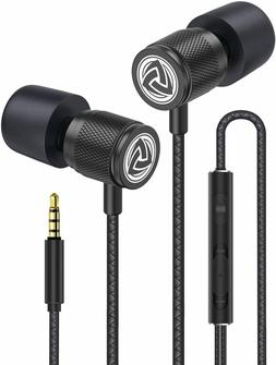 Wired Earbuds - LUDOS Ultra in Ear Headphones with Microphon