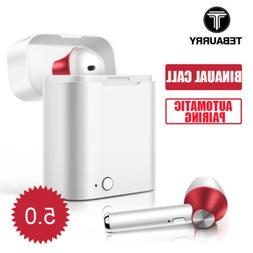 For Apple iPhone Android IOS Wireless 5.0 Bluetooth Earphone
