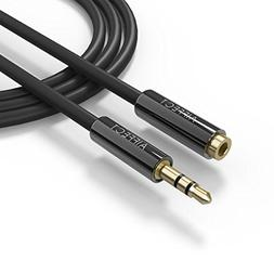 AIFFECT 3.3 Ft 3.5 mm Stereo Audio Extension Cable, AUX Male