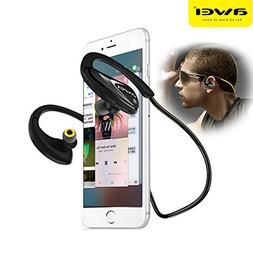 Black A880BL Sport Wireless Headphone Bluetooth Earphones Fo
