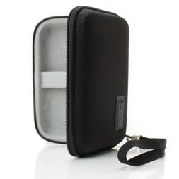 Hard Shell Protective Bluetooth Earbud Carrying Case with Sc