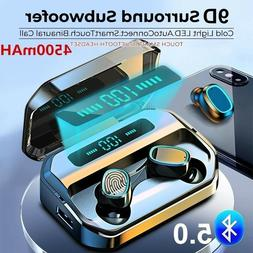 bluetooth earbuds for iphone samsung android wireless