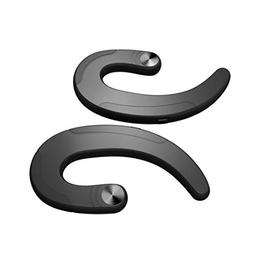 Bluetooth Earphone Earhook Handfree, Q25TWS Dual Bone Conduc