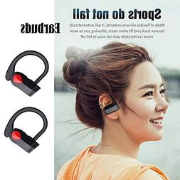 2Pcs Bluetooth Headphone with Mic Wireless Earbuds Headset E