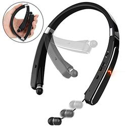 Bluetooth Headphones, Pandawill 30Hr Playtime V4.1 Bluetooth
