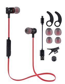 Bluetooth Headphones, Wireless 4.1Magnetic Attraction Earbud