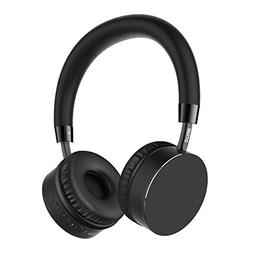 Otium Bluetooth Headphones On-Ear Wireless Headset w/Mic,Sof