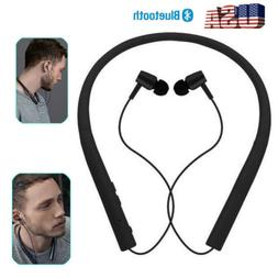 Bluetooth Headphones Neckband Earbuds For iPhone Samsung J4