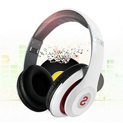 Bluetooth Headphones Over Ear, Hi-Fi Stereo Wireless Foldabl