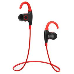 DeBeiTe Bluetooth Headphones V4.1 Wireless Sweatproof Headse