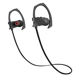 Bluetooth Headphones, Wireless Sport Earphones V4.1 Heavy Ba