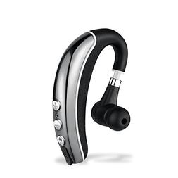 Bluetooth Headset, Wireless Earpiece, HiFi Stereo Headphone,