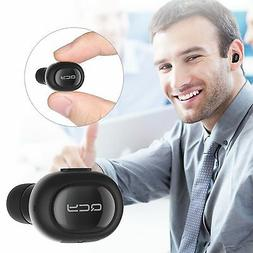Bluetooth Headset Earbud Invisible In Ear Single Car Earpiec