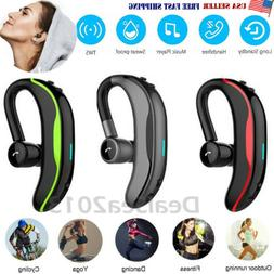 Bluetooth Headset Handsfree Wireless Earpiece Waterproof Ear