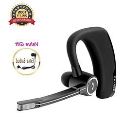 Bluetooth Headset, HD Stereo Bluetooth Earbuds with Dual Noi