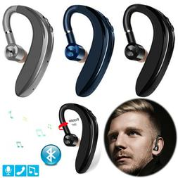 Bluetooth Headset Wireless Earpiece V5.0 Earbud For Cell Pho