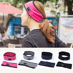 Efanr Bluetooth Music Headband, Wireless Stereo Speakers wit