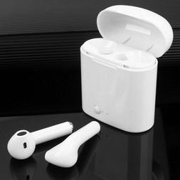 Dual Wireless Bluetooth Earphone Earbuds For Android IOS Pho