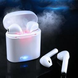 Dual Wireless Bluetooth Earphone Earbuds for Apple iPhone IO