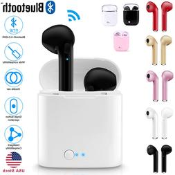dual wireless bluetooth earphone earbuds for ios