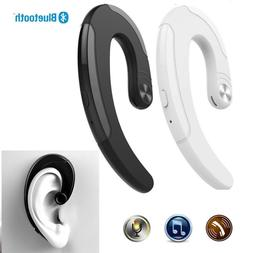 Ear-hook Bluetooth Earbud Non in-ear Headset for Cell Phones