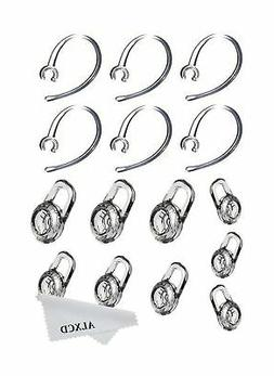 ALXCD Earbud Gel & Ear Hook for Plantronics, ALXCD 9 Pcs  Cl