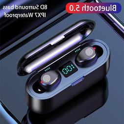 F9 TWS Blutooth Earphone Mini <font><b>Wireless</b></font> <