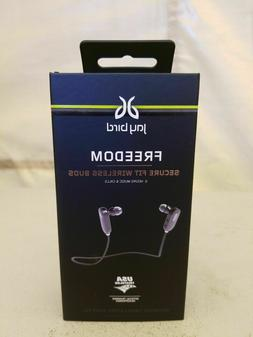 JayBird Freedom Bluetooth Earbuds Secure Fit Midnight Black