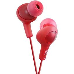 Jvc Hafx5R Gumy Plus Inner Ear Headphones - Red