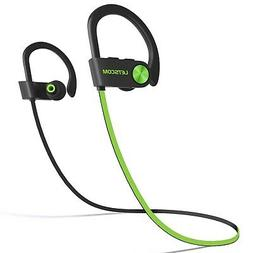 LETSCOM Bluetooth Headphones IPX7 Waterproof, Wireless Sport