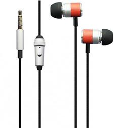 Hi-Fi Sound Earbuds Hands-free Earphones Mic Headset Metal H