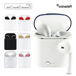 i7 Twins TWS <font><b>Bluetooth</b></font> Stereo Earphone P
