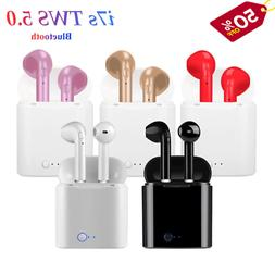 i7s tws wireless earphones bluetooth 5 0