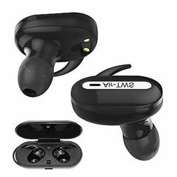 In-Ear Wireless Earbuds with Charging Case Voice Notificatio