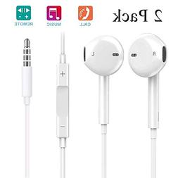 iPhone Headphones Wired Earphones,Muenin New iPhone Earbud H
